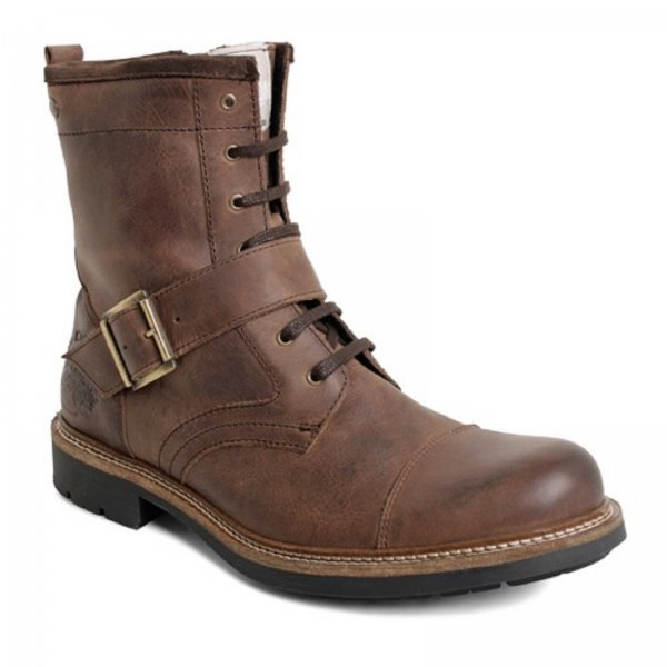 Base London Speed Burnished Brown Mens Boot