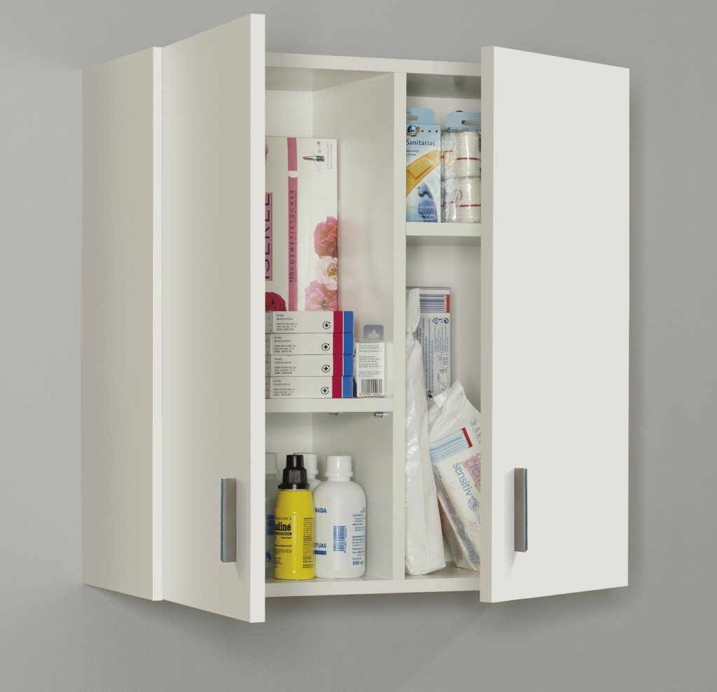 Vita Utility Wet Room Cabinet Cupboards - Laundry Cleaning Storage Units White