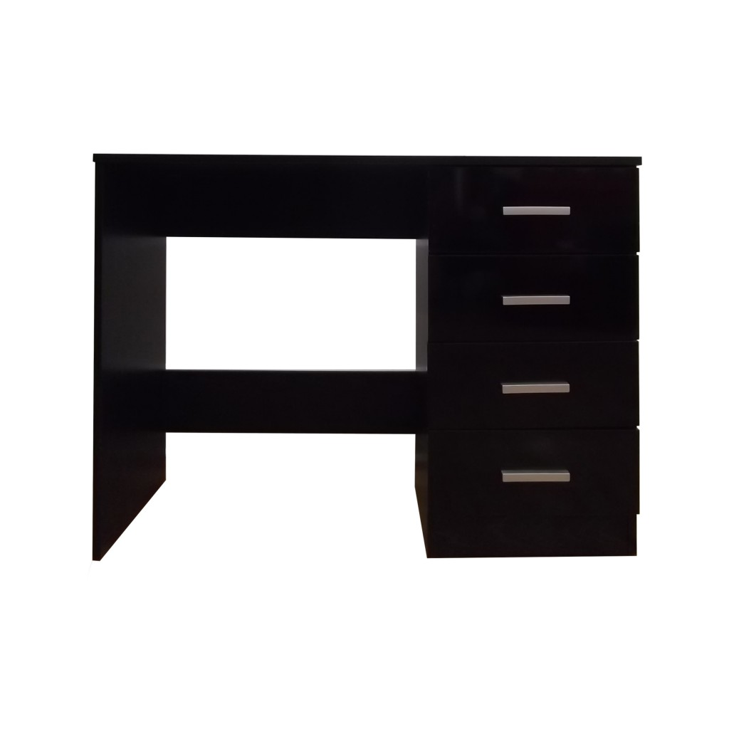 High Gloss 4 Drawer Vanity Dressing Table - Computer Laptop Study Desk