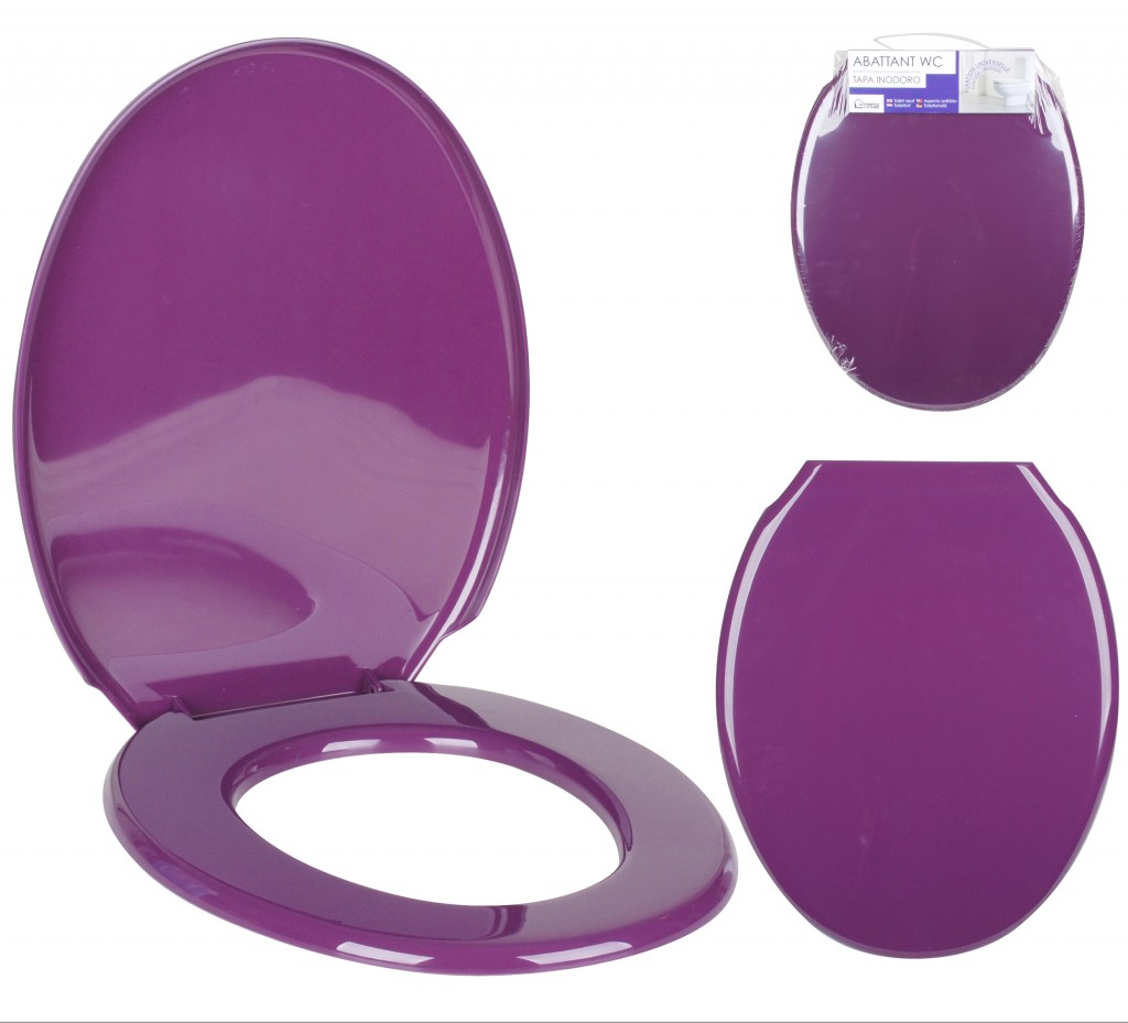 NEW TOILET SEAT VIBRANT COLOURS WC TOILET SEATS LARGER STANDARD SIZE EASY FIX