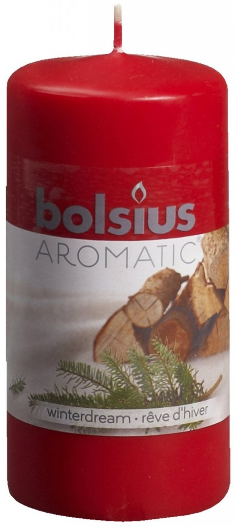 Bolsius Long Burn Aromatic Scented Pillar Church Candle 120x60 Fragrances Scent